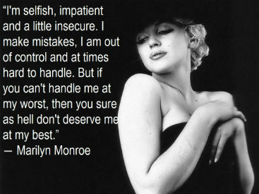 Marilyn Monroe Quote | Marilyn Monroe Quote Breakup Guide 275h Jr 1 Mental Health Blog