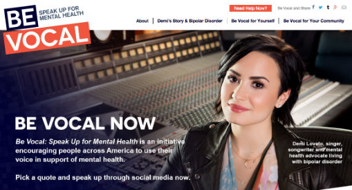 Demi Lovato Be Vocal signs you need a therapist