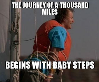 Bill Murray All About Bob Baby Steps short term therapy goals