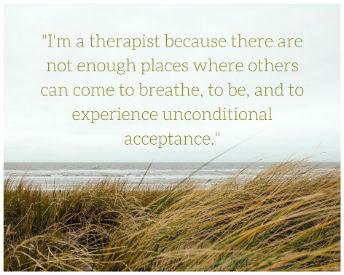 Angela Gunn Talkspace therapist quote