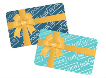 Talkspace E-Gift Card ribbon