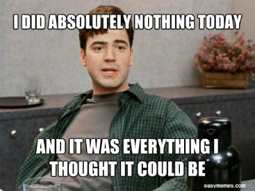 Office Space doing nothing Peter