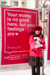 Talkspace Valentine's Day event
