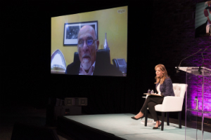 Irvin Yalom Talkspace future of therapy conference Iris Reitzes