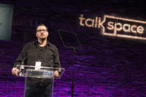 oren frank speech Talkspace conference