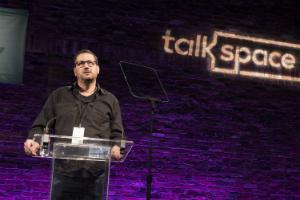 oren frank speech Talkspace conference