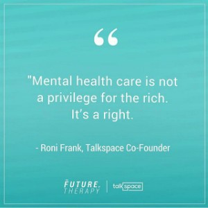 roni frank talkspace co-founder quote
