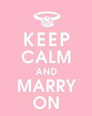 keep calm and marry on meme