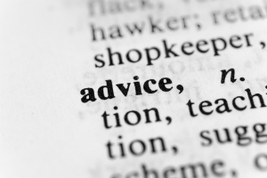 advice definition