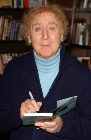 Gene Wilder book signing