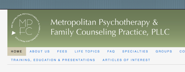 group psychotherapy practice website banner