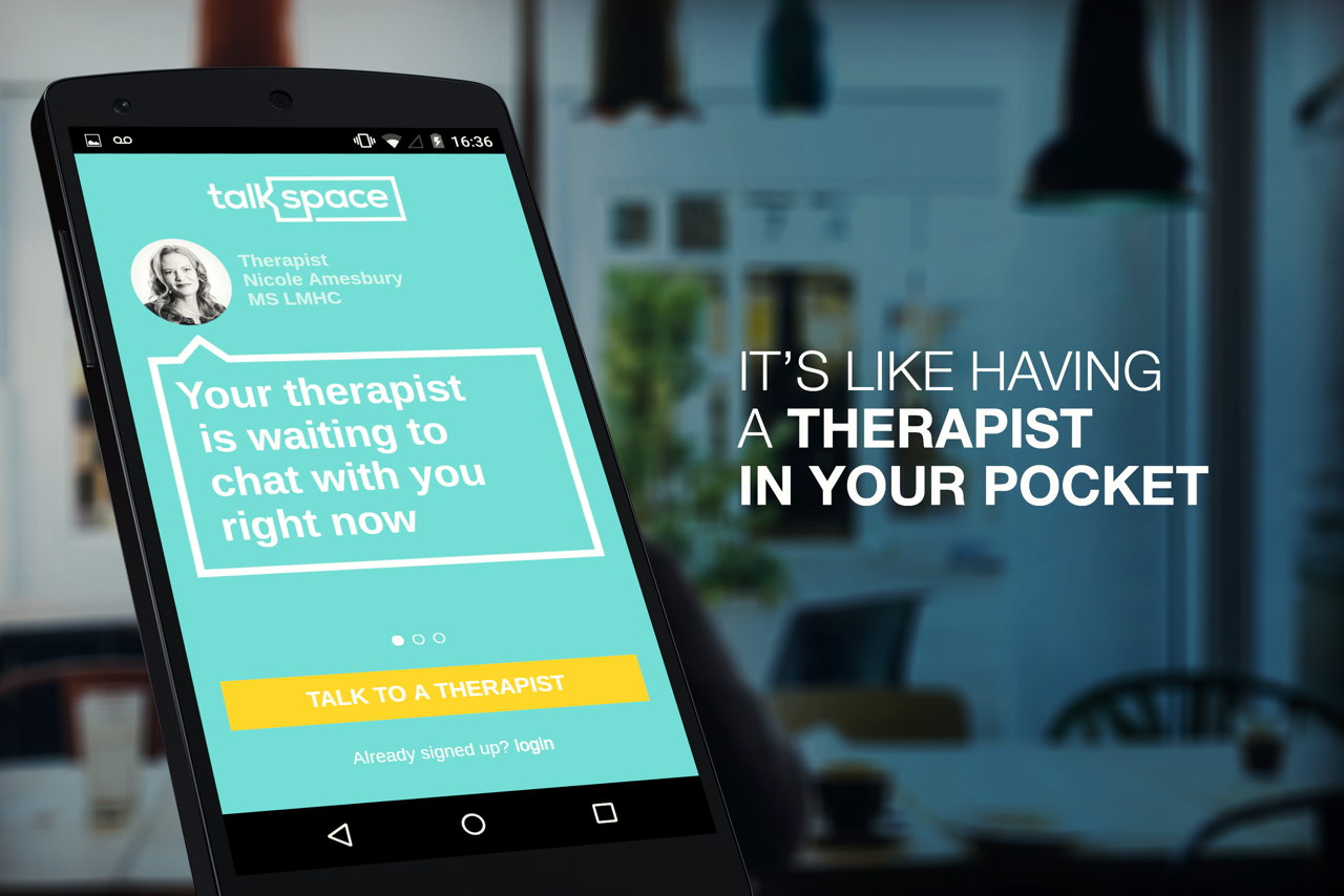 therapist pocket Talkspace image