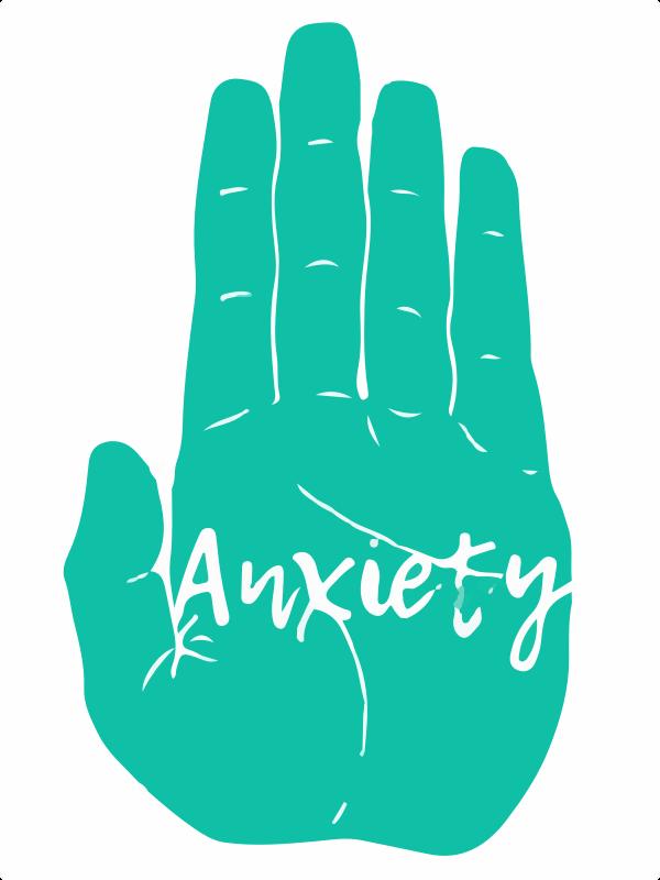 green hand anxiety