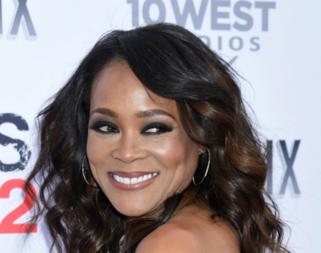 robin givens red carpet