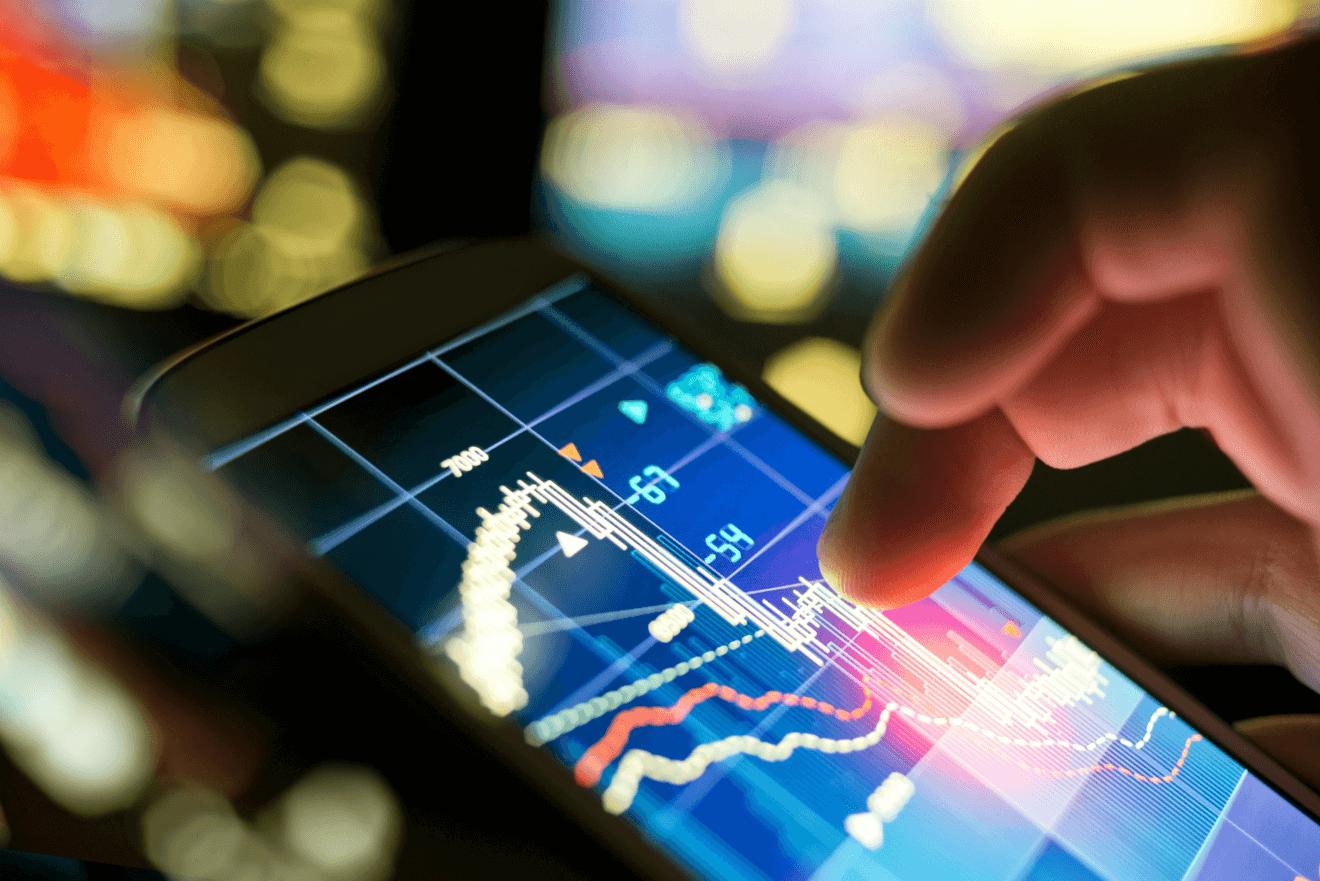 hand smartphone data app