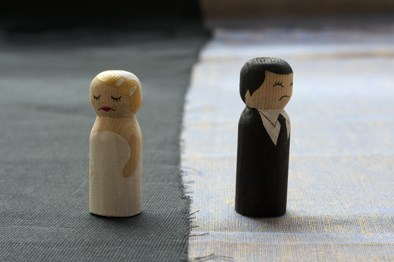 sad wedding cake toppers
