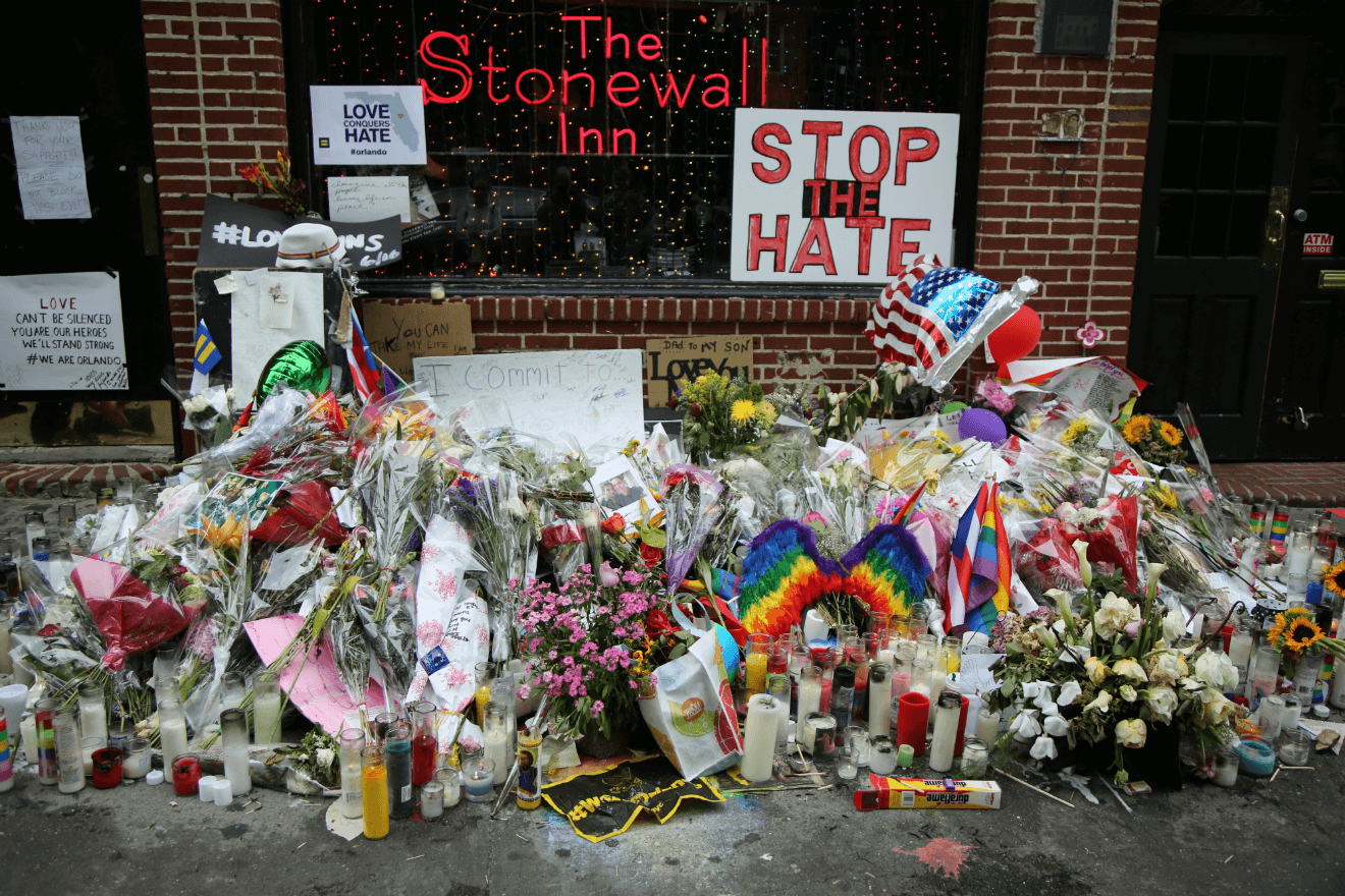 stonewall inn memorial LGBT pride