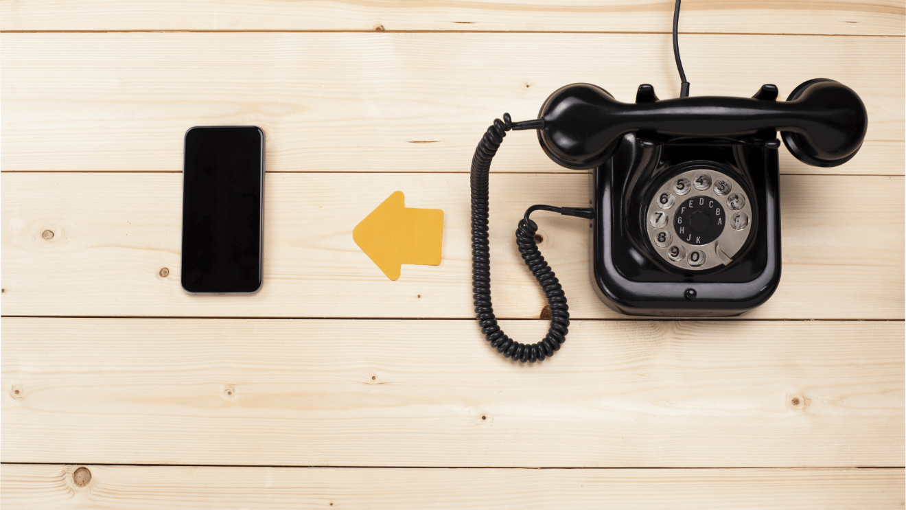 rotary phone smartphone