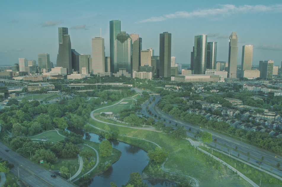 Houston landscape shot