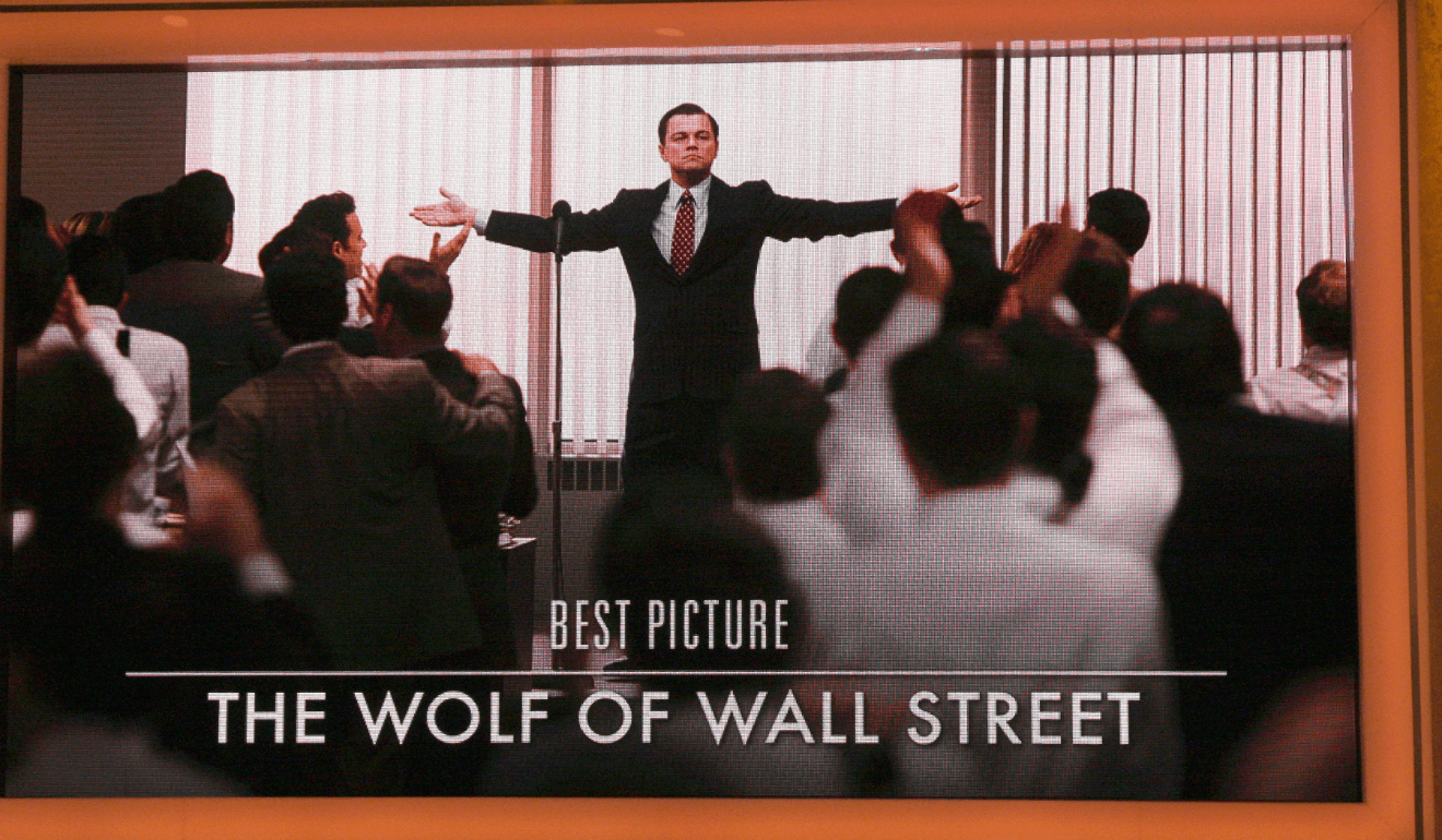 wolf of wall street scene best picture nomination