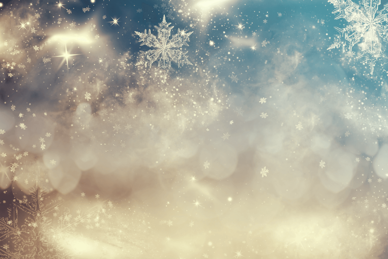 snowflakes clouds holiday winter background