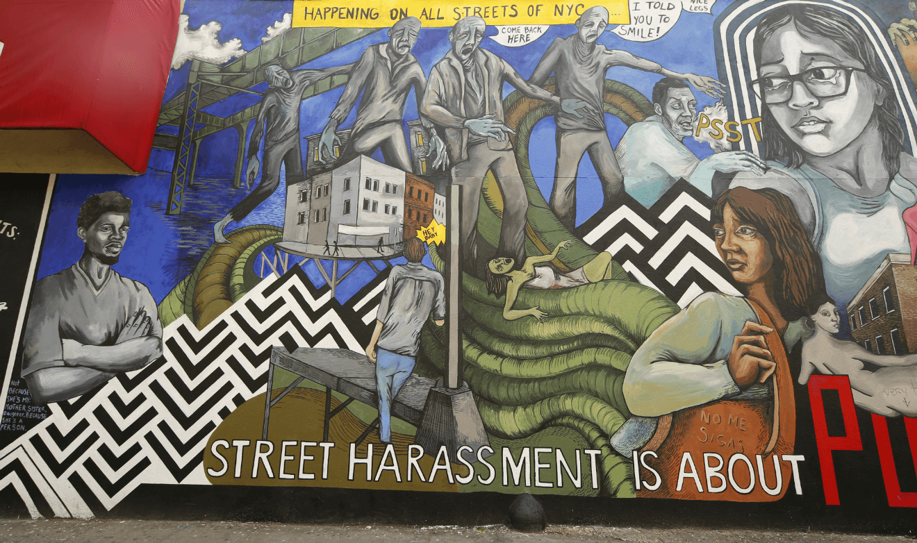 street harassment mural brooklyn