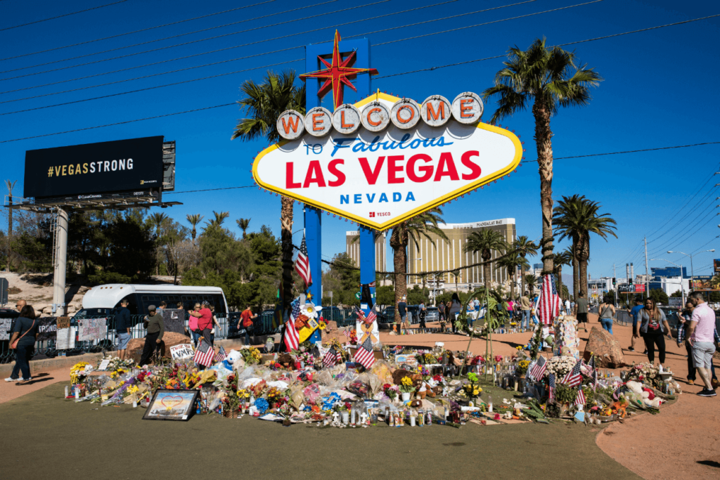 las vegas shooting memorial
