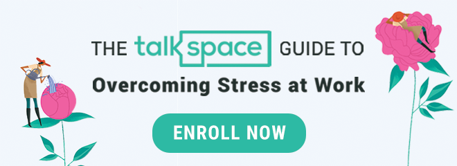 talkspace guide to overcoming stress at work CTA
