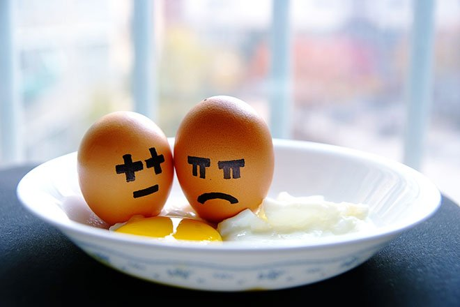 Crying eggs