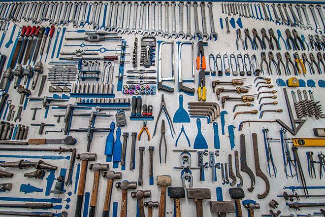 Organized tools