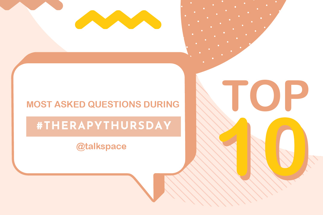 Most asked questions during Therapy Thursday