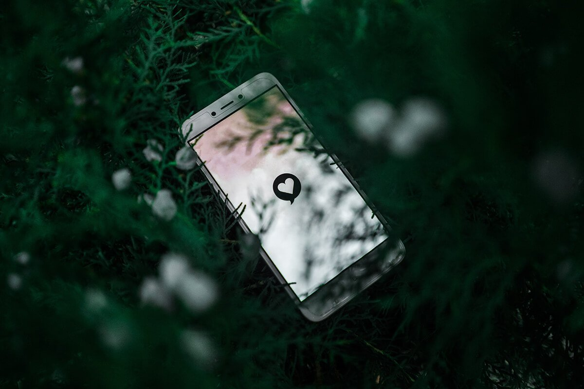 lost phone in the woods