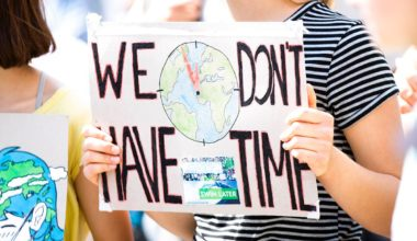 "Sign that reads: ""We don't have time"""