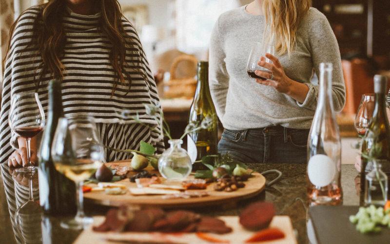 food and alcohol triggering around holidays