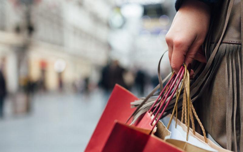 holiday shopping stress