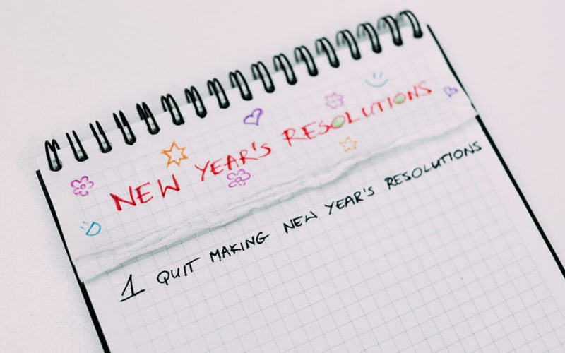 fresh start in the new year