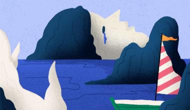 stages of grief illustration