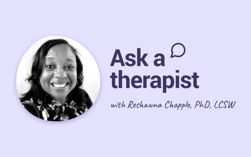 Ask Reshawna Chapple