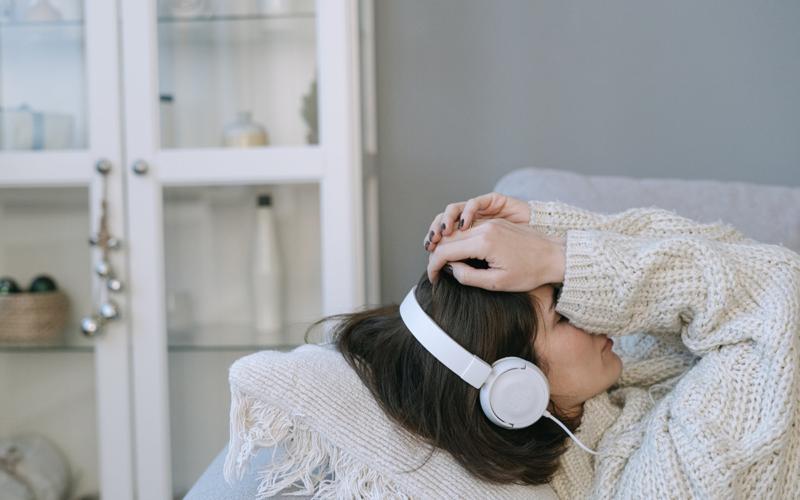 anxious listener